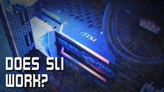 Is SLI Worth it? GTX 1080 TI Performance (MSI Gaming X Trio)