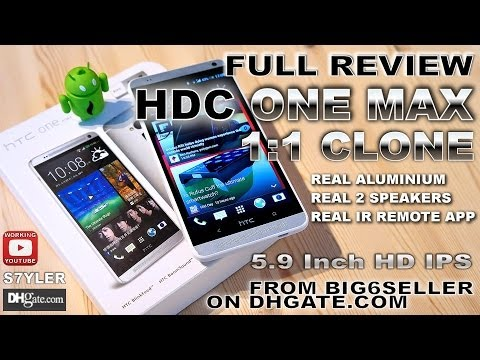 HDC One MAX (AKA Star One MAX) [REVIEW IN-DEPTH] MTK6582 / BEST 1:1 HTC One MAX Clone/Replica/Copy?