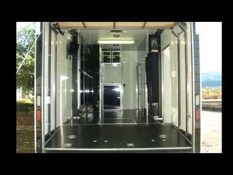 2007 Millennium Race Trailer with living Quarters