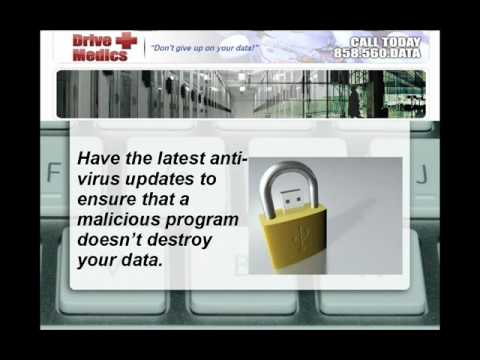 How to Prevent Data Loss? Data Recovery FAQ's by Drive Medics San Diego