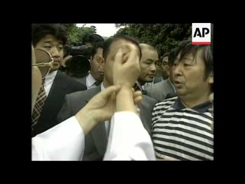 Japan - S.Korean Comfort Women Protest