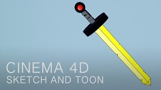 Cinema 4D Tutorial: Sketch and Toon Shading