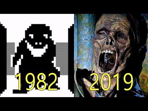 Evolution of Horror Games 1982-2019