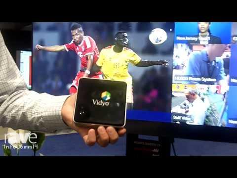 InfoComm 2014: Vidyo Features its VidyoRoom HD40 System