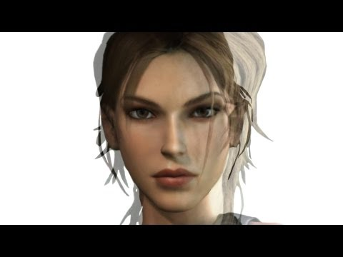 Face Morph of Lara Croft