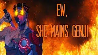 YES, I main Genji. NO, I am not a weeb (I think)