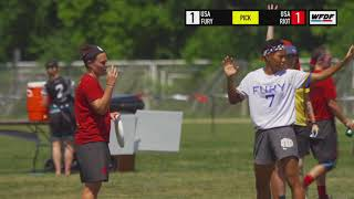 WUCC 2018 - Fury (USA) vs Seattle Riot (USA)