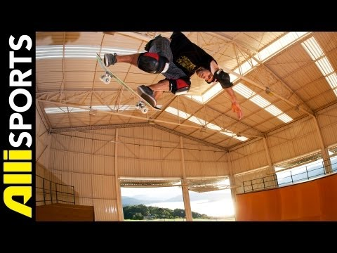 How To Bodyjar, Sandro Dias, Alli Sports Skate Step By Step Trick Tips