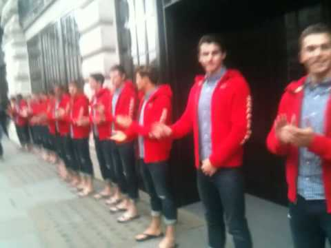 Truffle Pr Meet Hundreds Of Hot Men In Hollister Pr Stunt - Regent Street 4th May video