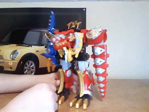 Power Rangers Dino Thunder: Thundersaurus Megazord Review