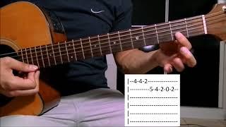 Fruto Especial - Bruno e Marrone Aula Solo Violão (como tocar)