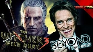 The Witcher 3 NEW DETAILS! Willem Dafoe In BEYOND_ TWO SOULS, Metro_ Last Light RELEASE DATE & More!