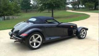 SOLD !!! 2001 CHRYSLER PROWLER MULHOLLAND CONVERTIBLE FOR SALE SEE WWW SUNSETMILAN COM