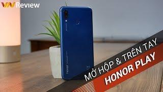 ✅ [4K] VnReview - Mở hộp & Trên tay Huawei Honor Play   Cỗ máy chuyên game 7 triệu cấu hình 20 triệu