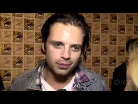 The Winter Soldier Johansson, Evans, Stan & Emily Van Camp Interviews Comic-Con 20131869