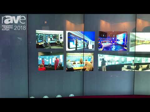 ISE 2018: Multitaction Exhibits MT Canvas for Visualization and Collaboration