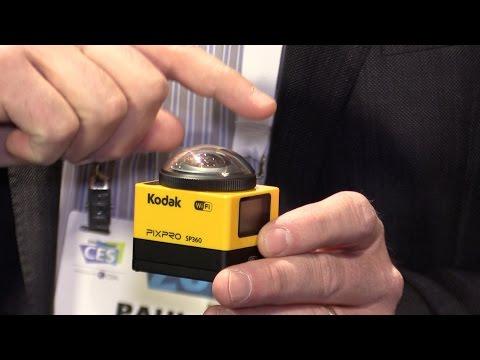 CES 2015 First Look: Kodak Pixma SP360 - 360 degree video capture