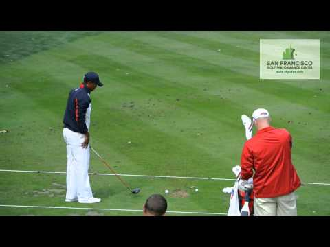 Tiger Practicing Ryder Cup 2012 HD