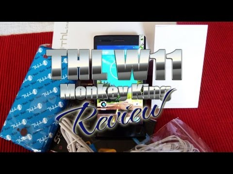 Thl W11 Monkey King Review -  Mt6589t Quad-core 1.5ghz -- Full Hd - Antelife -- Colonelzap video