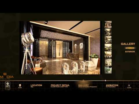 บริษัท DEC MEDIA – THE ART @ Thonglor – Interactive Condo Application&Touchscreen