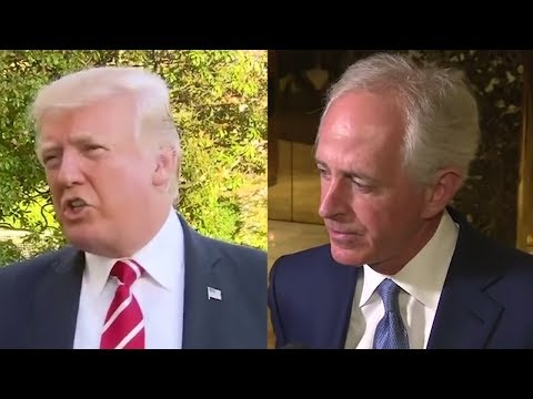 What you need to know about Trump's Twitter feud with Corker