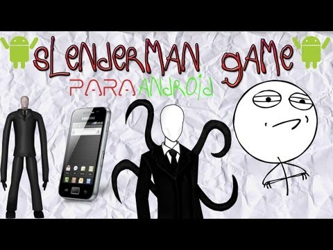 Slenderman Game en Android | Review en Español | Samsung Galaxy Ace | HD