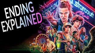 STRANGER THINGS Season 3 Ending Explained! Season 4 Theories and Post Credit Analysis!