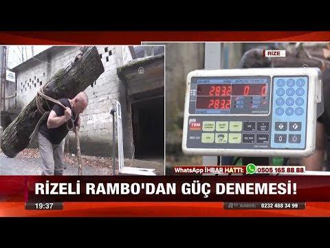 Rizeli Rambo'dan güç denemesi! - 15 Ocak 2018