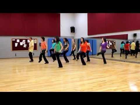 Chicago Bonfire - Line Dance (dance & Teach In English & 中文) video