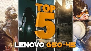 LENOVO G50-45 Gaming #3 | TOP 5 Games | A8 6410 & AMD Radeon R5 M330