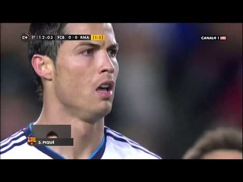 Copa Del Rey Semi Final FC Barcelona vs Real Madrid 1-3 CANAL1+HD