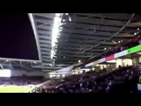 Brighton vs Crystal Palace 0-2 zaha second goal & celebrations