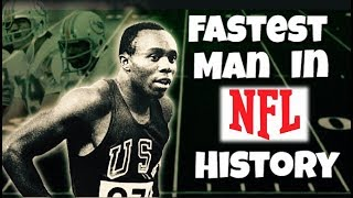Why the Fastest Player in NFL History Never Made it in the League