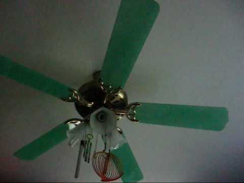 Montage Of Ceiling Fans In My House