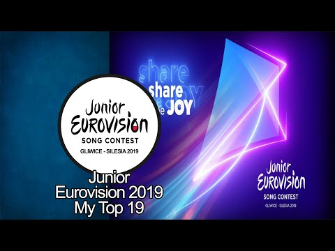 Junior Eurovision 2019 - My Top 19