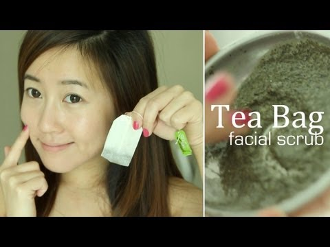 Tea Bag Face Scrub