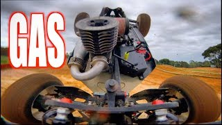 GOPRO ONBOARD NAKED NITRO RC BUGGY - TRAFFIC & JUMPS - MUGEN -PART 2