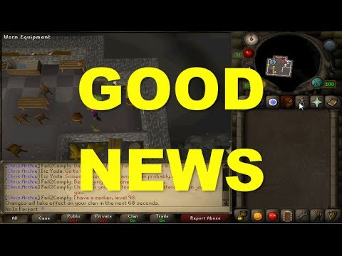 Good News for Runescape!