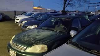 [Xe oto cũ và rẻ] Bãi bán xe Toyota,Honda cũ giá 5 ngàn đô.#62.