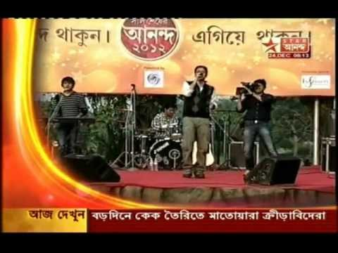 The Anupam Roy Band- Ure Jaak (Live on Star Ananda!!)