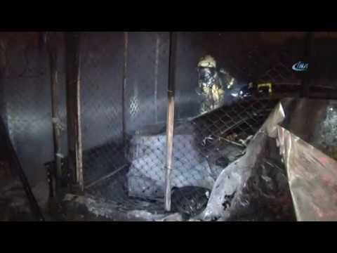 Eyüpsultan'da Yangını İzlerken Kaza Yaptı