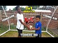 The Rematch! | KID vs TEENAGER 1v1 Football Challenge!! Who W...
