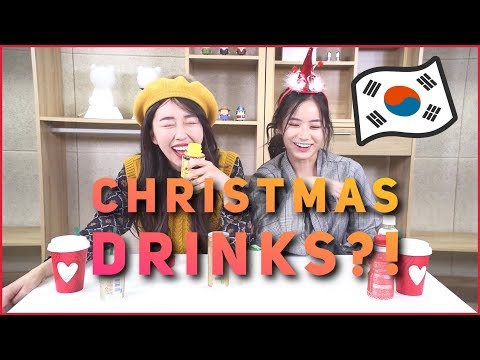 VLOGMAS DAY 18: KOREAN CHRISTMAS DRINKS?!?!