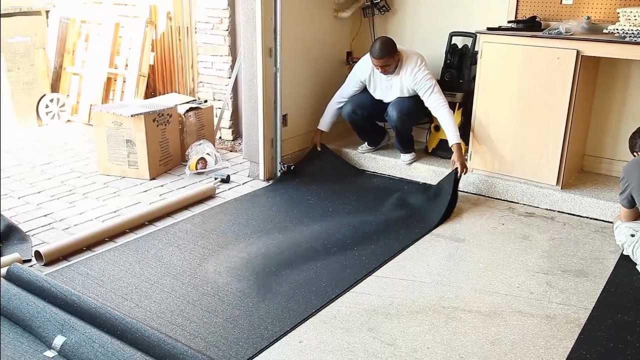 Tile on cement floor