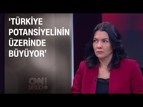 Selva Demiralp: Türkiye potansiyelinin üzerinde büyüyor