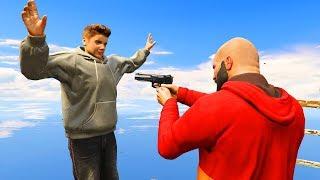 GTA 5 Justin Bieber Mod!(GTA V Brutal kill Funny moments Thug life)