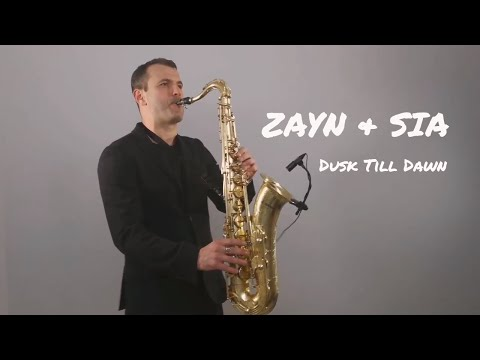 ZAYN ft Sia - Dusk Till Dawn Saxophone Cover by Ju MP3...