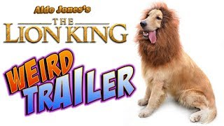 THE LION KING 2019 Weird Trailer  FUNNY SPOOF PARO