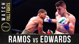 Ramos vs Edwards Full Fight: September 21, 2019 - PBC on FS1
