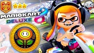 Flower Cup 150cc! Inkling Girl! - Mario Kart 8 Deluxe Gameplay - Episode 4